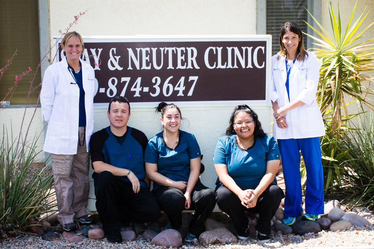 Arizona Spay & Neuter Clinic Staff
